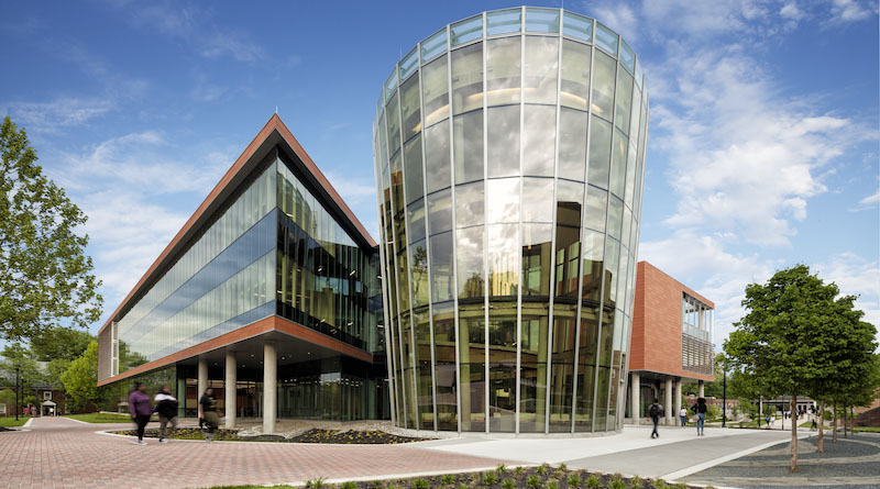 Bowie State's New Center Touts Massive Glass Curtain Wall