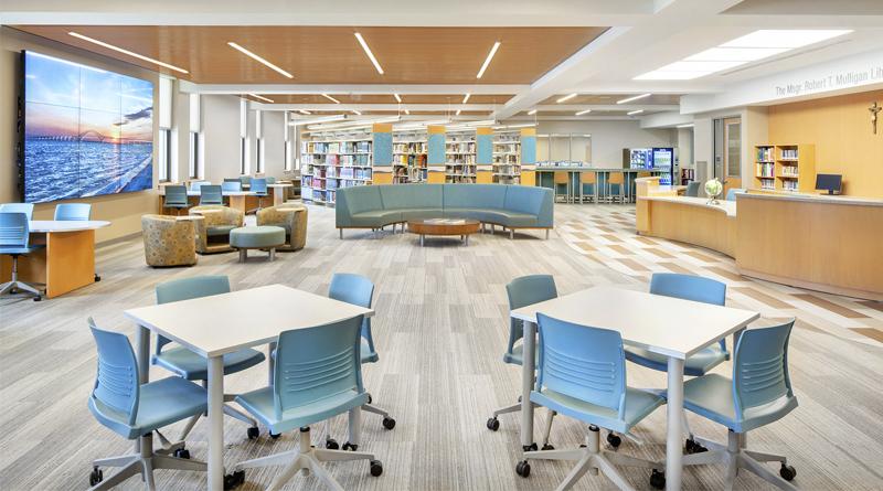 BBS Architects Modernizes N.Y. High School Library