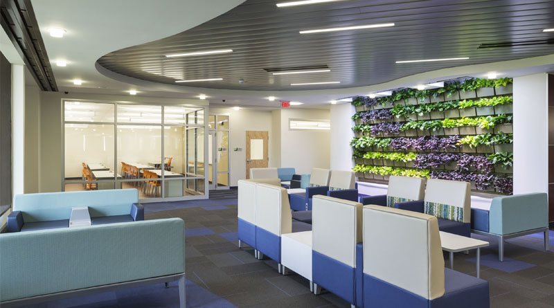 Essex County College Opens New Media Center Student Lounge