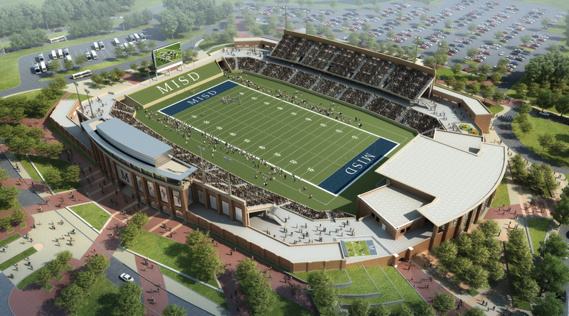 For New Texas High School Stadium, It's Go Big or Go Home