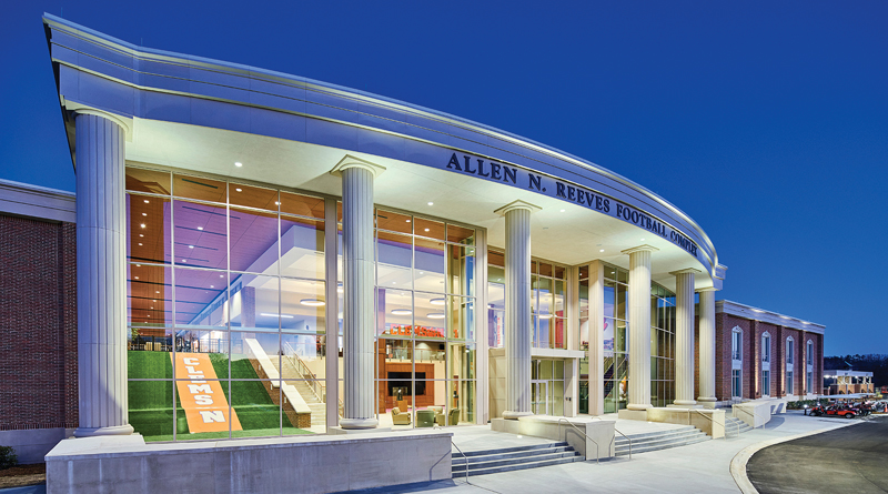 Clemson University Brings Fire Protection to Football Facility