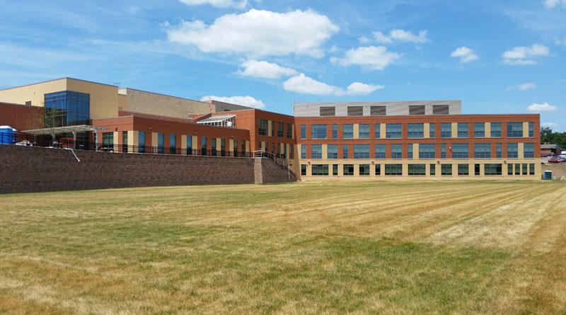 Brand-New Allegany High School Tracking LEED Silver - School