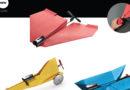 Motorized Origami Vehicles