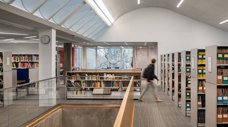 ARO Completes Tate Library Renovation