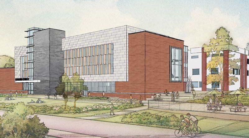 University of New Haven Reaches Milestone in Bergami Center Build