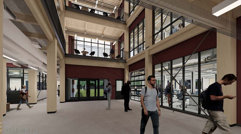First-of-its Kind Timber Product to be Used in MSU Building