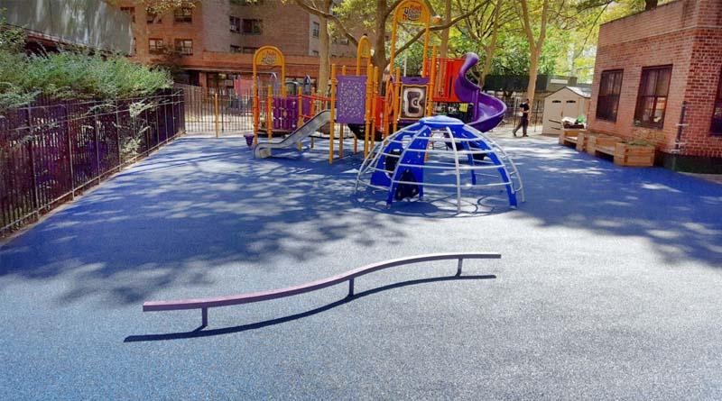 Rubber Playground Flooring School Construction News