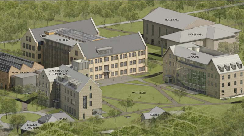 Kenyon College Breaks Ground on Building Trio