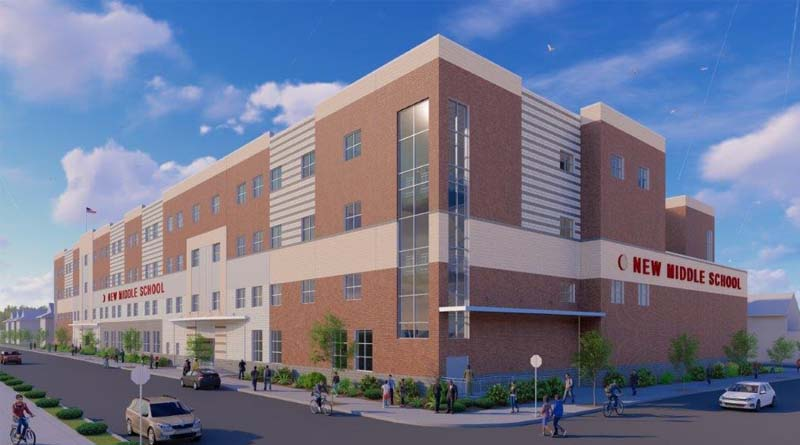 Site Work Begins on New Jersey Middle School