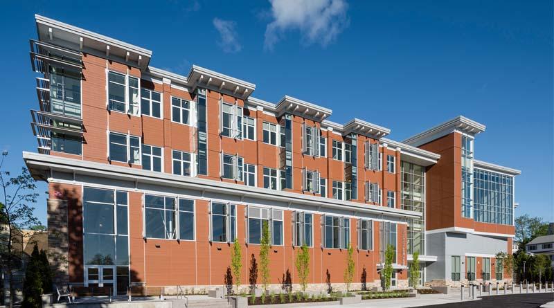 BOND Wraps Innovative New Massachusetts Middle School