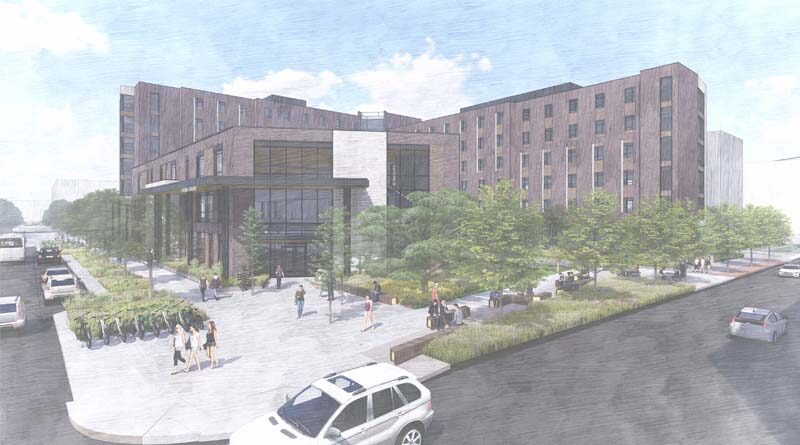 University of Colorado Tops Out Residence Hall Project