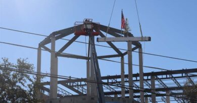 New San Antonio High School Celebrates Construction Milestone