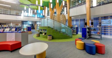 Spacious New Elementary School Wraps Texas Build