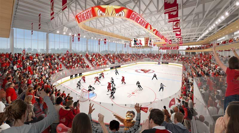 Sacred Heart Breaks Ground on $70M Ice Arena