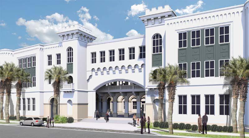 Spacious New Citadel Venue Designed for LEED Silver