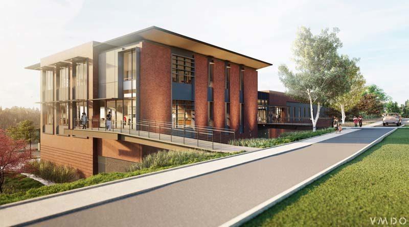 Future Virginia College Building Designed for Net-Zero