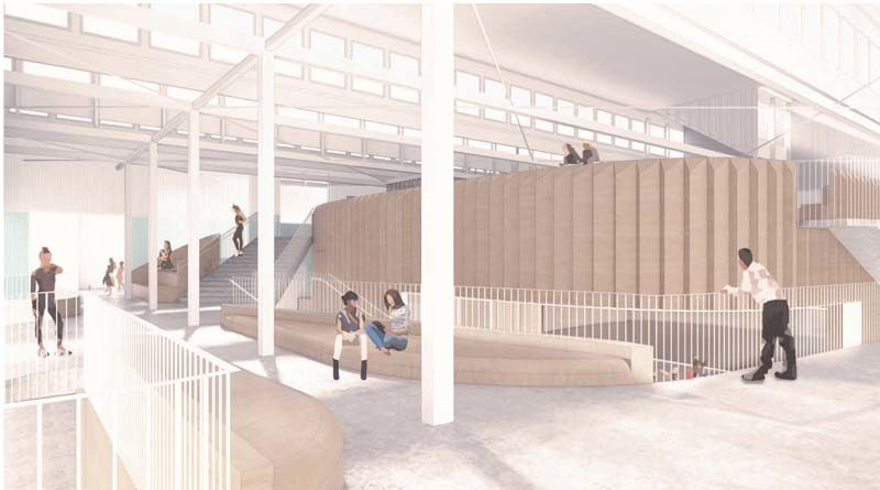 Chapman University Transforming Historic Warehouse to Performance Center