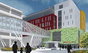 University of Louisville Building Pediatric Center - School